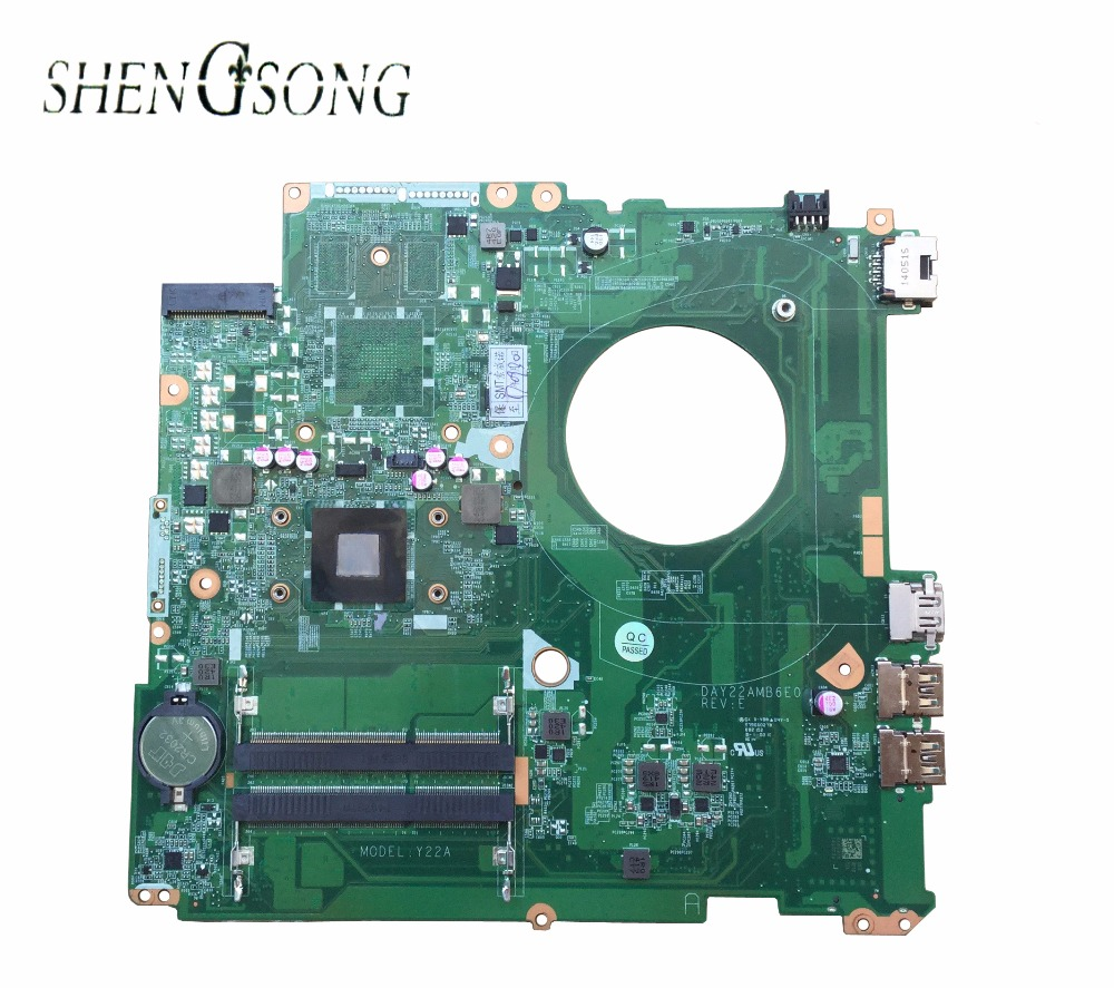 763422-501 763422-001 for HP PAVILION 17Z-F000 for HP Pavilion 17-F laptop motherboard DAY22AMB6E0 REV:E A8-6410 Y22A