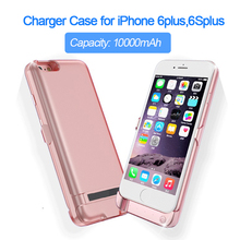 Recommend charger case 10000mAh for iPhone 6plus 6Splus Portable Ultra Backshell wireless charge case Battery power bank