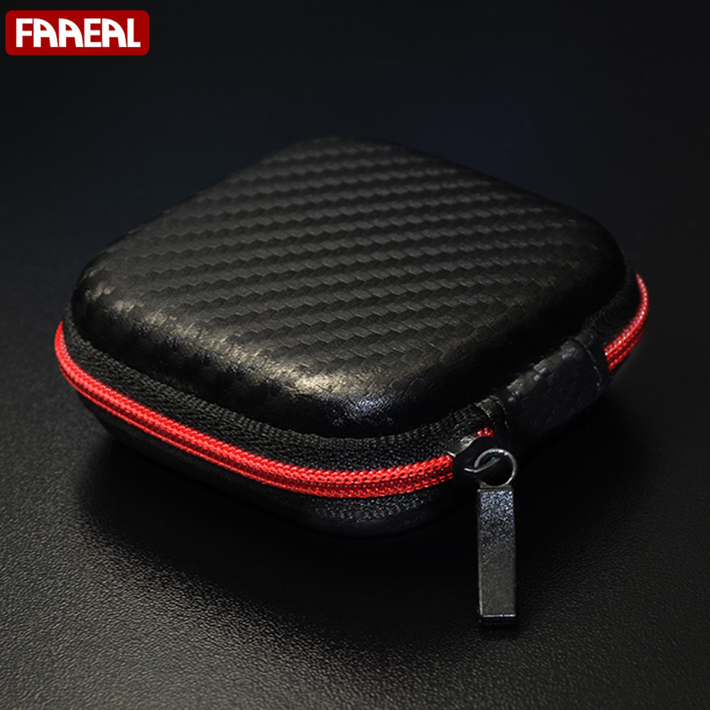 100*60*40mm New Oval Style Eva Headphone Carry Bag Hard For Power Beats Pb In-ear Earphone Pouches Storage Cases Black Box