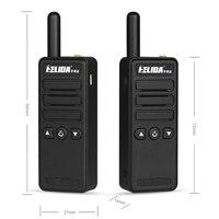 שתי דרך רדיו 2W מיני UHF עמיד שתי דרך רדיו כיס גודל Kids מכשיר קשר T-M3 הצבע Woki טוקי Henglida (3)
