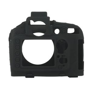 Image 3 - Top Texture Design Rubber Silicon Case Body Cover Protector Soft Frame Skin for Nikon D800 D800E Camera