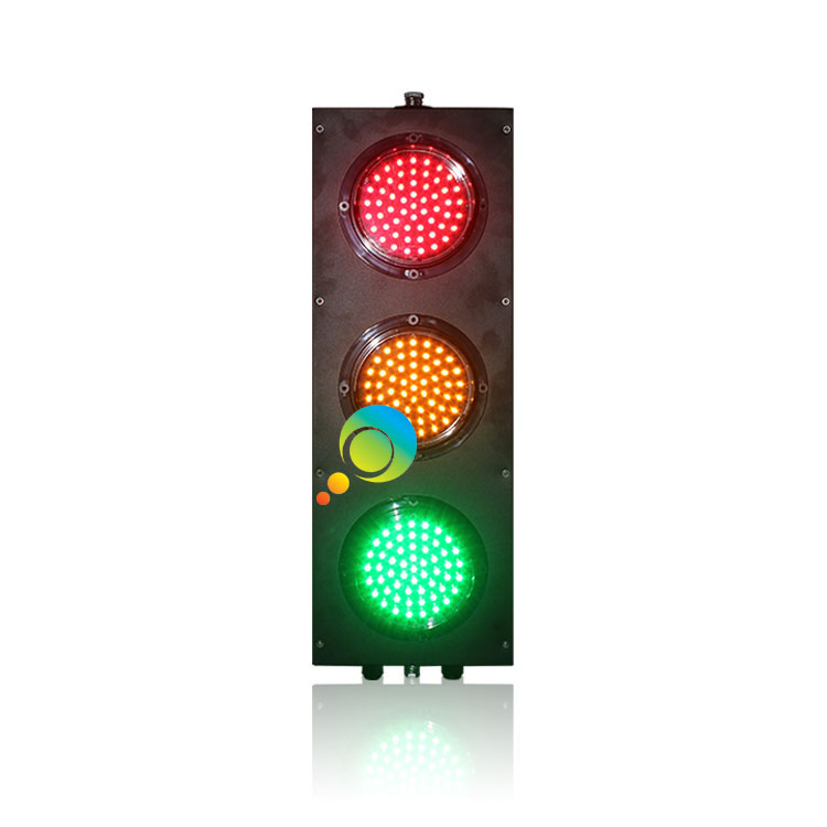 Factory Direct Price Customized 125mm Red Yellow Green Full Ball LED Traffic Signal Light