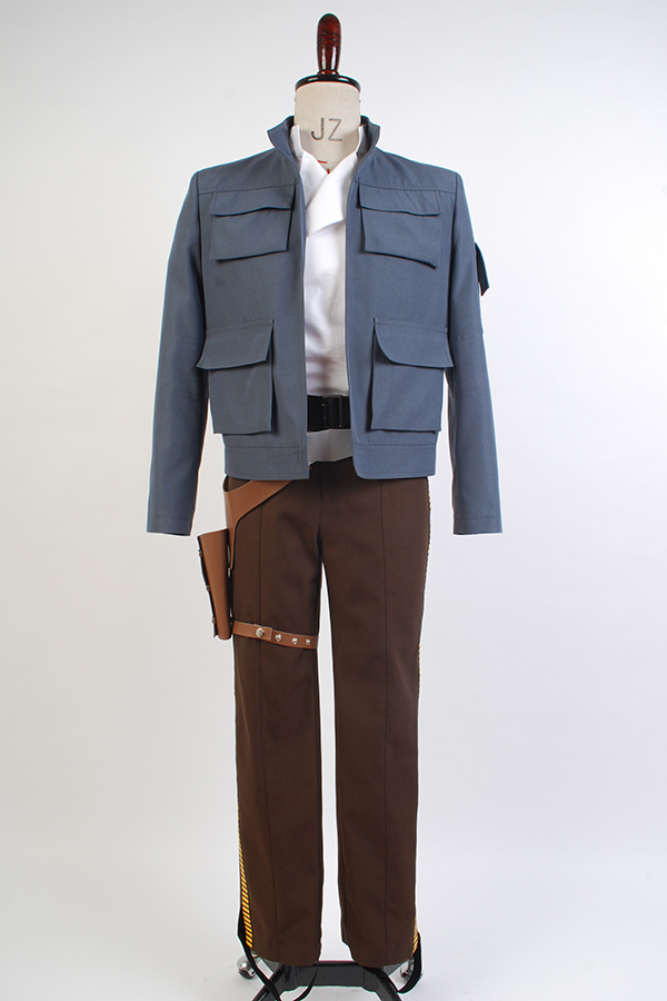 Star Wars Empire Strikes Back Han Solo Outfit Suit COSplay Costume Jacket only