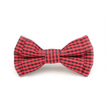 Boys Cotton Pin Bow Tie Easy Wear 20 colors 2 styles School charming tie pin clip silver black