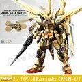 MOMOKO Model Kits New Gundam Seed Destiny MG 1/100 ORB-01 Akatsuki Gundam OOWASHI SHIRRNUI Assembly Robot Action Figures Toys