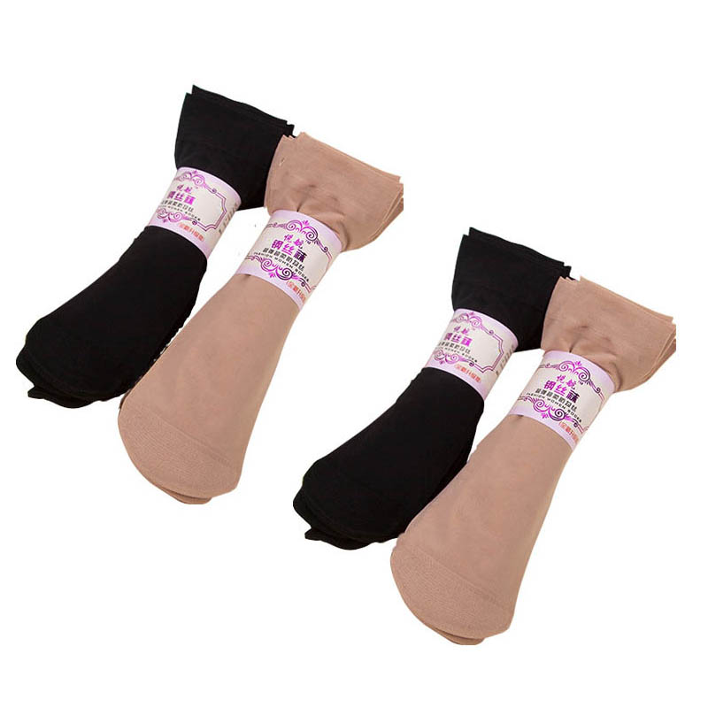 10 Pair Summer Thin Women Lace Nylon Socks Skin Soft Breathable Transparent Short For Female Elastic Ankle Sock meias calcetines in Socks from Underwear Sleepwears