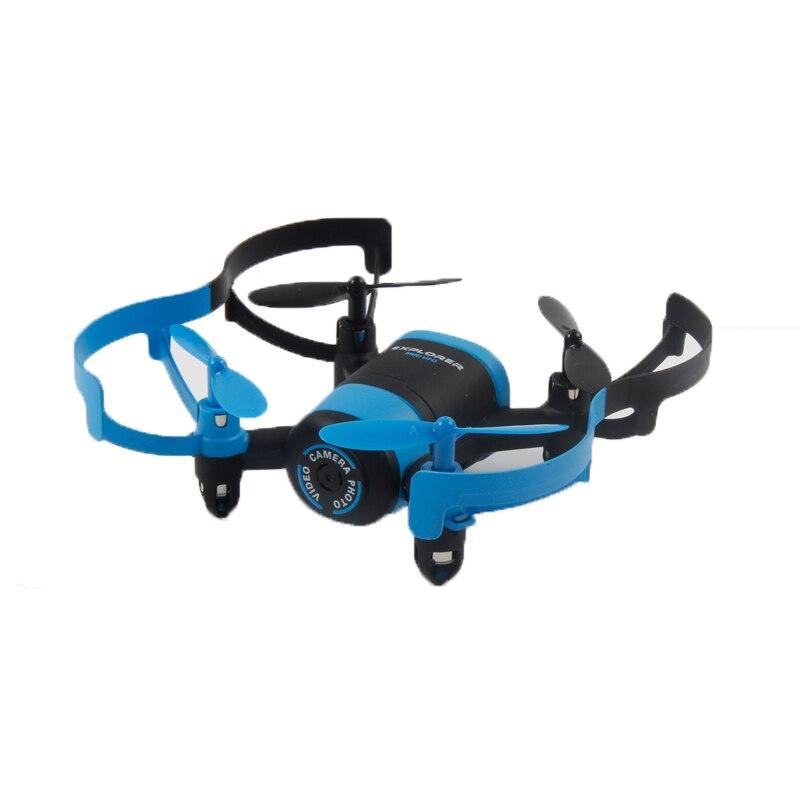 Chaude RC Mini Dron Avec Caméra HD WIFI Caméra En Direct Hélicoptère Radio de Contrôle Minuscule Quadcopter Sans Tête Mode Télécommande Jouet