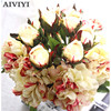 Foreign trade excellent products artificial flower dry garden decoration peony fake flower wedding bouquet home DIY decoration
