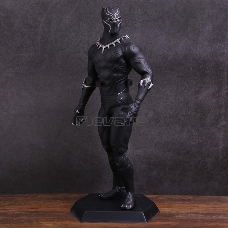 цена на Crazy Toys Black Panther 1/6 Scale PVC Figure Collectible Model Toy