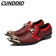 Cunddio туфли-оксфорды для мужчин Модельные туфли в весна-осень из натуральной кожи черные мужские кожаные туфли для отдыха