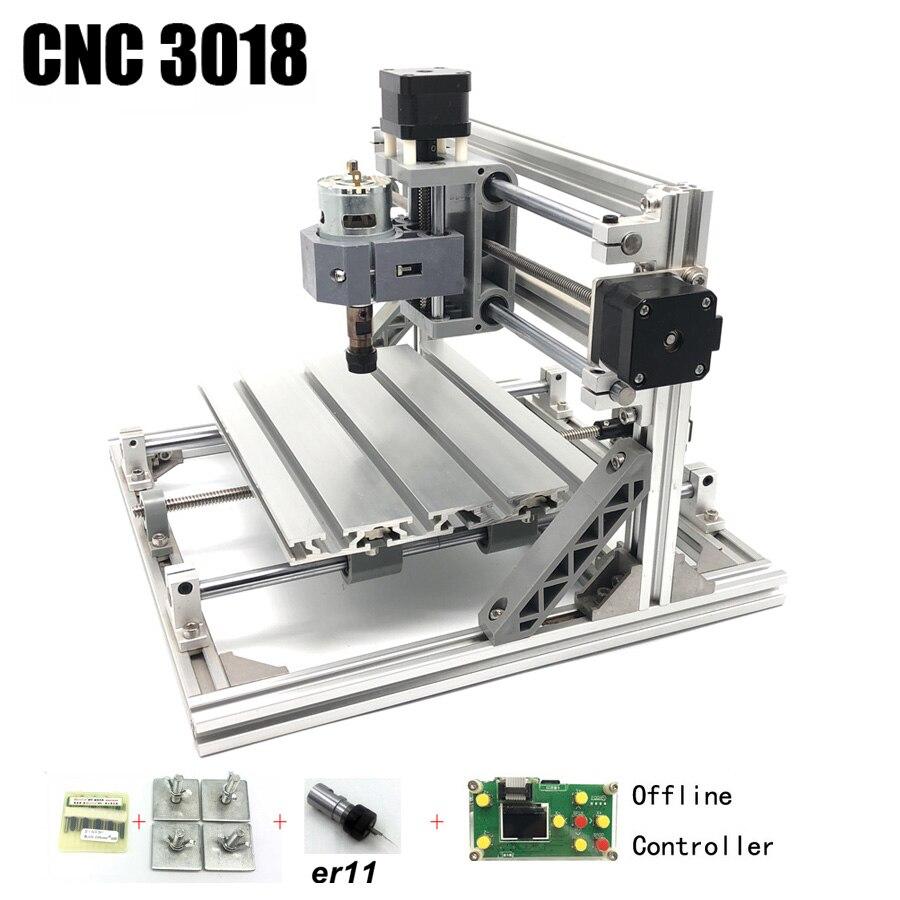 CNC3018 ER11, diy cnc machine de gravure, Pcb Fraiseuse, bois routeur, gravure laser, GRBL contrôle meilleur passe-temps machine