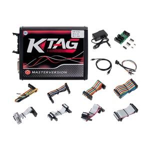 Image 5 - k tag ecu programming tool V2.53 ktag V7.020 Kess v2 5.017 obd2 manager turning kit Master Online EU Red kess v2 5.017 DHL free