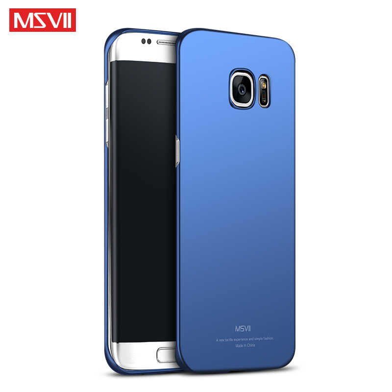 sale retailer e1c31 0fc57 For Samsung Galaxy S6edge Case MSVII Brand For Samsung Galaxy S6 edge plus  case scrub cover For Samsung S 6 edge plus phone case