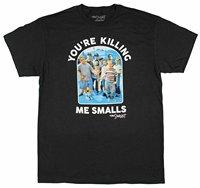 2017 de La Moda de Los Hombres de Manga Corta Regular O-cuello La Sandlot estás Matándome Smalls Foto de Grupo Con Licencia de Los Hombres camiseta