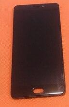 """Usato Originale LCD Screen Display + Touch Screen + Telaio Anteriore Per Elefono P8 Helio P25 Octa Core 5.5"""" FHD Trasporto libero"""