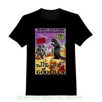 Women S Tee The Terror Of Godzilla Custom Youth T Shirt 172 Summer Casual Cotton Tops