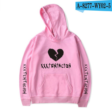 Rapper Xxxtentacion Broken-hearted Hoodie HatHoodies and Xxxtentacion Sweatshirts Oversized To Women/Men