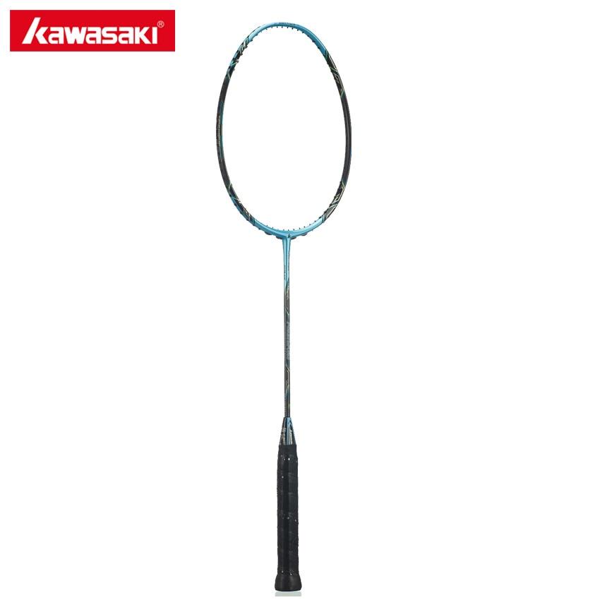 Kawasaki Maître 600 Professionnel Raquettes De Badminton 4U Balle Type De Contrôle 3 En 1 Cadre 30 T Haute Rigidité Carbone 30 lbs raquette