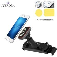 купить Univerola Magnetic Mount Holder Car Back Seat Headrest Holder For iPhone X Smartphone Tablet Stand Phone Universal 360 Rotation по цене 716.06 рублей