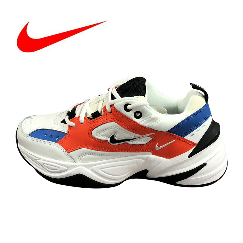 dccb98c843f97 US $81.68 57% OFF|Original Nike M2K Tekno Men's Running Shoes, New Outdoor  Sports Shoes Breathable Shock Absorption non slip -in Running Shoes from ...