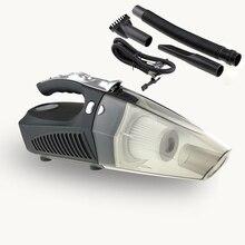 4 in 1 רכב שואב אבק רב פונקציה עם צמיג Inflator צמיג לחץ מד Led אור 100W כף יד