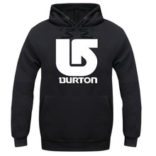 Hot Selling Men's Fashion brand burton Hoodies Sweatshirts ,Casual Male Hooded suit Lovers unlined upper garment S-2xl