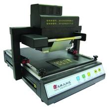Цифровой автоматический планшетный принтер фольга печать горячего тиснения машина для A3 A4 обложки книг ротационная печатная машина TJ-219