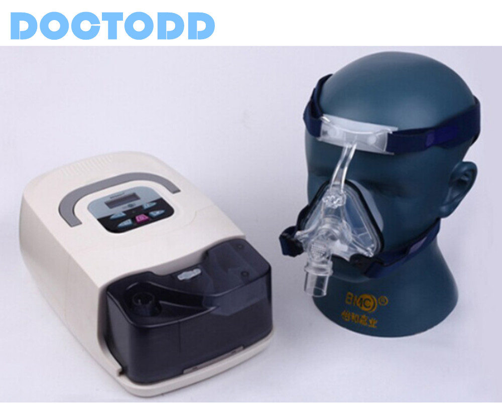 Doctodd GI CPAP CE Approvato DALLA FDA CPAP Macchina Per La BPCO CHE VIAGGIANO SUL WEB Anti Russare CPAP Respirazione Sacco A Pelo Favoreggiamento CPAP Respiratore Ventilatore