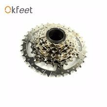Okfeet BYDNP epoka ZF32T freeswheel 7 8 9 prędkości rower górski rower koła muchowe obróć 21 24 27 tanie tanio Other Stop 28-34 t 72 dźwięki