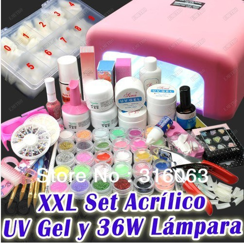kit manucure aliexpress