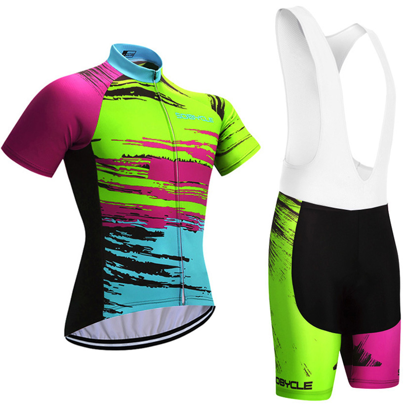 dab7a97c8 UCI cycling Season Graffiti TEAM pro cycling jersey 9D gel pad bike shorts  set Ropa Ciclismo