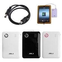 נייד מתכוונן 5V 9V 12V 18650 סוללה מטען מקרה כפול יציאת USB נייד כוח בנק תיבת מקרה עבור טלפון סלולרי Tablet Z07