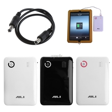 Taşınabilir ayarlanabilir 5V 9V 12V 18650 pil şarj cihazı durumda çift USB portu mobil güç bankası kutusu kasa cep telefonu Tablet Z07