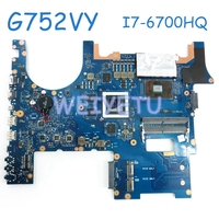 G752VY MB._0M I7 6700HQ CPU GTX980M laptop motherboard for ASUS G752 G752V G752VM G752VS mainboard laptop Motherboard