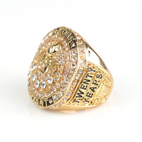 Mens Ring Band Bling Jewlery micro inlaid CZ Hip Hop Style Sport Fan Kobe Bryant Memorial Replica Championship ring Size 9-12