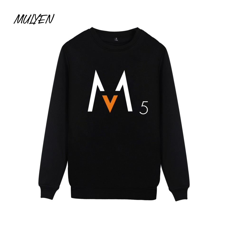 MULYEN Fashion Rock Style Maroon 5 Pullover Hoodies Women Men ...