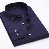 MarKyi 2017 nieuwe lange mouwen slim fit designer mannelijke shirts plus size 5xl goede kwaliteit plaid katoen casual mannen shirt sociale