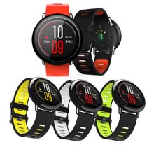 New 5 Colors Sport Silicone Wrist Strap For Xiaomi Huami Amazfit PACE Smart Watch Replacement Band Smartwatch correa