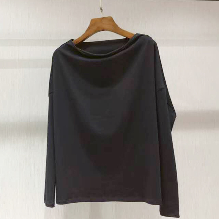 2018 Couleurs T Slash Femmes Ar180810 Cou De Tops shirt Mode 2 USfUp