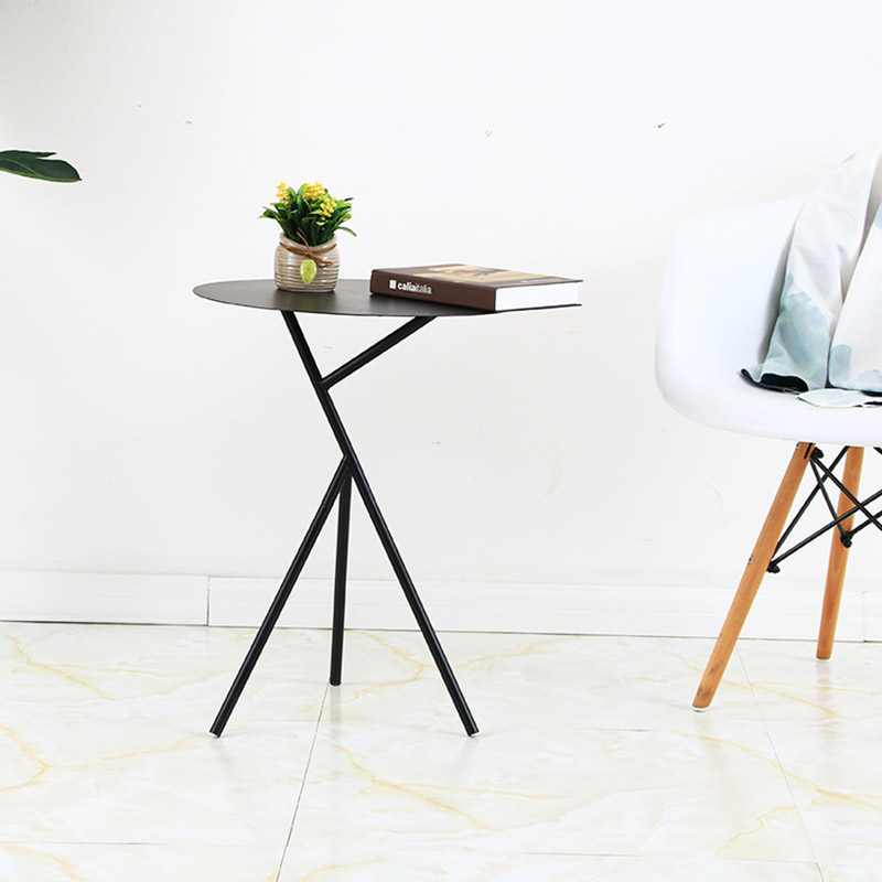 Minimalism iron tea table Creative small end table sofa side coffee table living room furniture end table modern coffee table home furniture living room furniture side table small round night table modern furniture sets