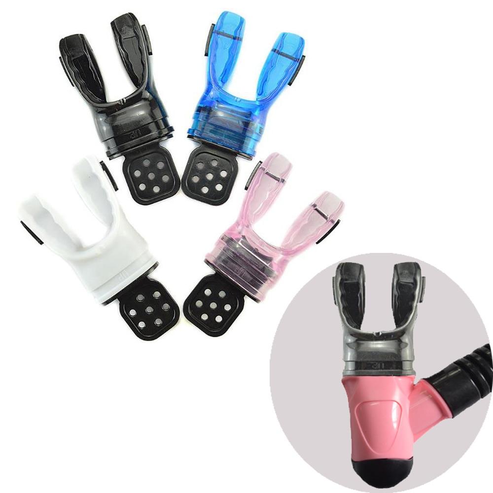 4 Color Scuba Dive Snorkel Moldable Silicone Bite Mouthpiece Regulator