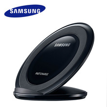 Подлинное Беспроводное Зарядное Устройство Samsung для Samsung S7 edge S7 S6 edge Plus S6 Edge S6 Note 5, Вертикальная Быстрая Зарядка
