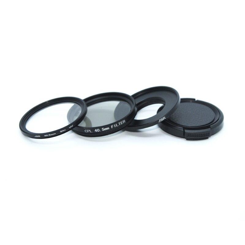 4 en 1 Unidades SJCAM accesorios 40,5mm CPL filtros + + 40,5mm tapa de lente para SJ6 leyenda/SJ7 estrella SJ8 de los deportes de acción de la Lente de la cámara