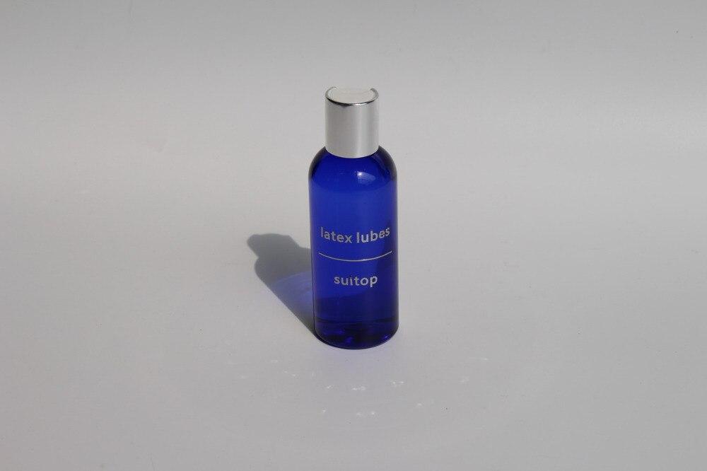 Латексные смазки, резиновые смазки 100 мл (прозрачные смазки), силиконовое масло