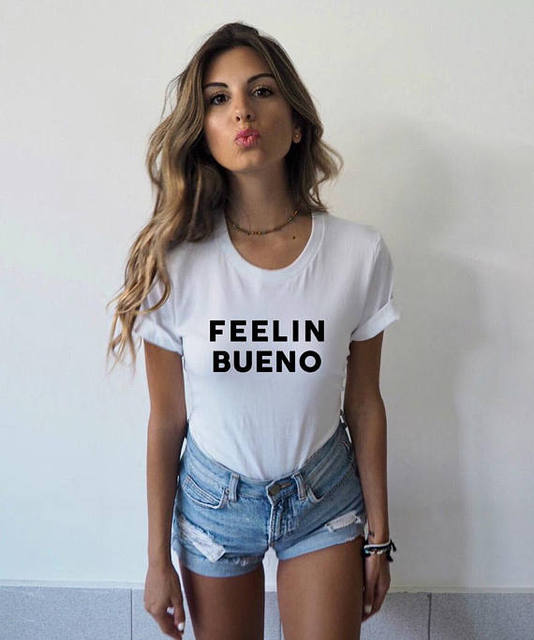 f14940945e1f Feelin Bueno T-Shirt Tumblr Shirts Wanderlust Cinco de Mayo Gift for Her  Trending Now