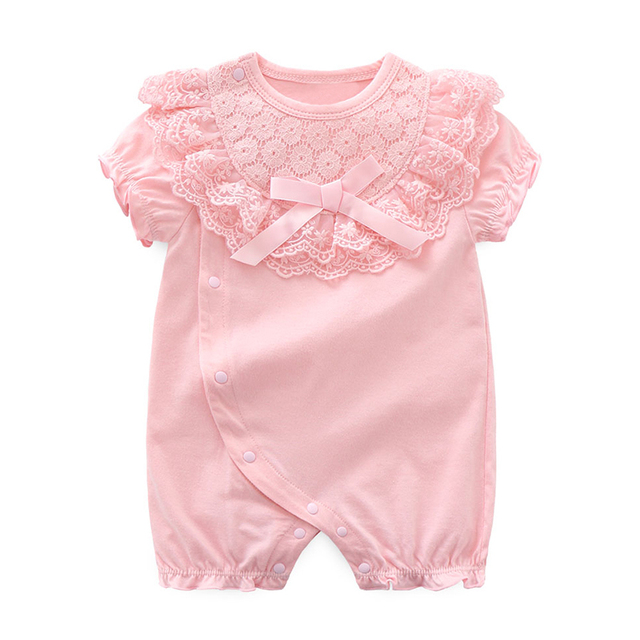 Newborn's Cute Cotton Rompers