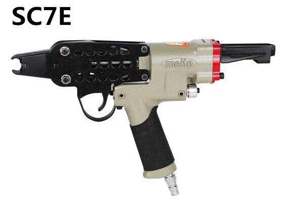 SC7E Pneumatic C Ring Gun Air Nail Gun Hog Ring Plier C Ring Naier Original Authentic