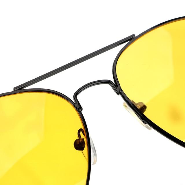 Anti-glare Polarizer Sunglasses Car Drivers Night Vision Goggles Polarized Driving Glasses Copper Alloy Sunglasses 3