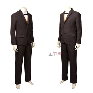 Image 5 - New Fantastic Beasts and Where to Find  Them Newt  Scamander Cosplay Costumes high quality custom made