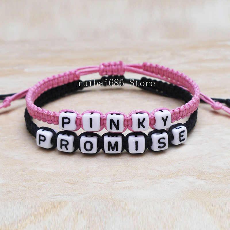 Boyfriend Girlfriend Bracelets Boyfriend Girlfriend Jewelry promise bracelet pinky promise  His Hers gifts Couples Bracelet Boyfriend